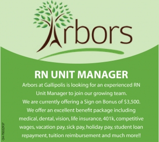 RN Unit Manager