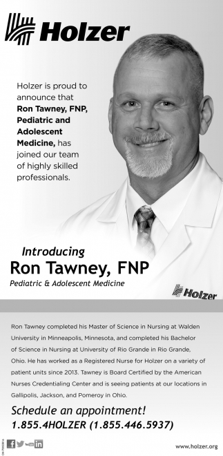 Ron Tawney, FNP, Pediatric & Adolescent Medicine