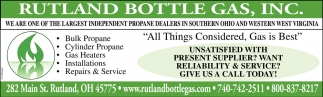 Bulk Propane, Cylinder Propane, Gas Heaters, Intallations