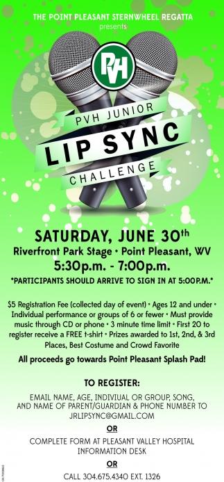 Lip Sync Challenge