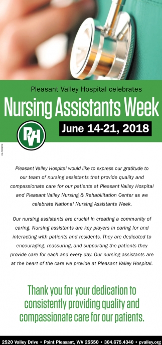 Nursing Assistants Week