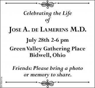 Jose A. De Lamerens M.D