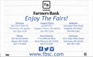 Enjoy The Fairs!