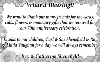 Rex & Catherine Shenefield
