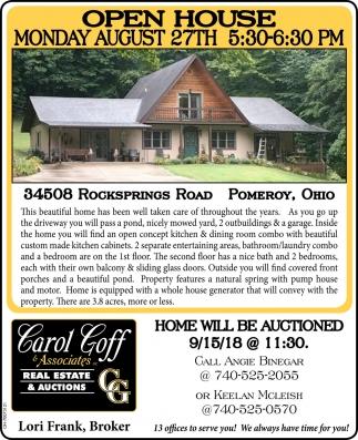 34508 Rockspring Road, Pomeroy, Ohio
