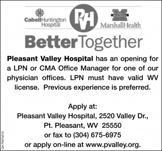 LPN / CMA Office Manager