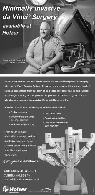 Minimally Invasive da Vinci Surgery