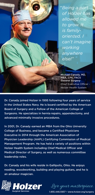 Holzer Surgical Services