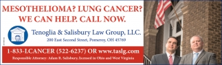 Mesothelioma? Lung Cancer?