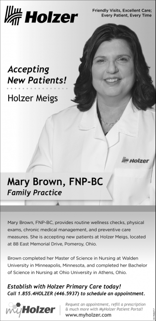 Mary Brown, FNP-BC Family Practice