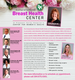 Comprehensive Breast Health Center