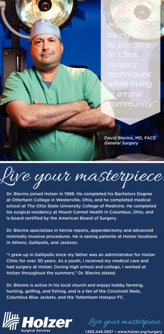 David Blevins, MD, FACS, General Surgery