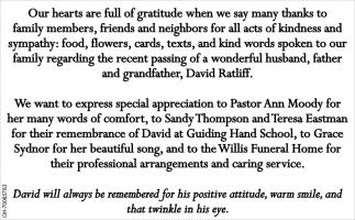 Family of David Ratliff