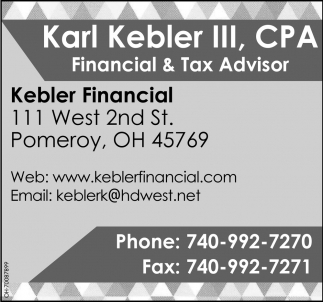 Financial & Tax Advisor