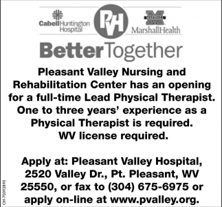 Lead Physical Therapist